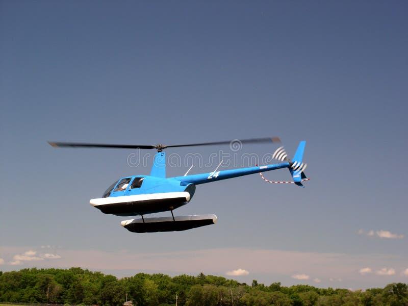 Helicóptero De Flutuação Fotos de Stock Royalty Free