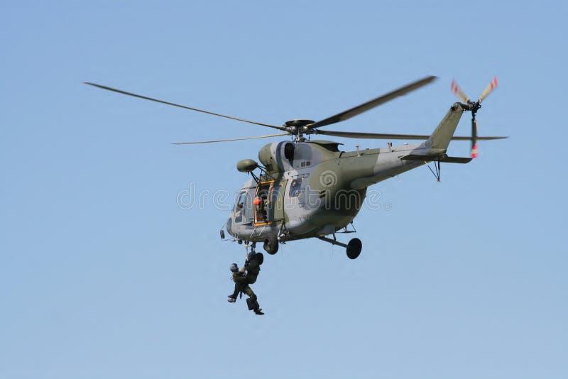 Helicóptero de la emergencia imágenes de archivo libres de regalías