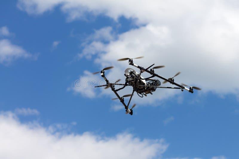 Helicóptero de la fotografía aérea fotos de archivo