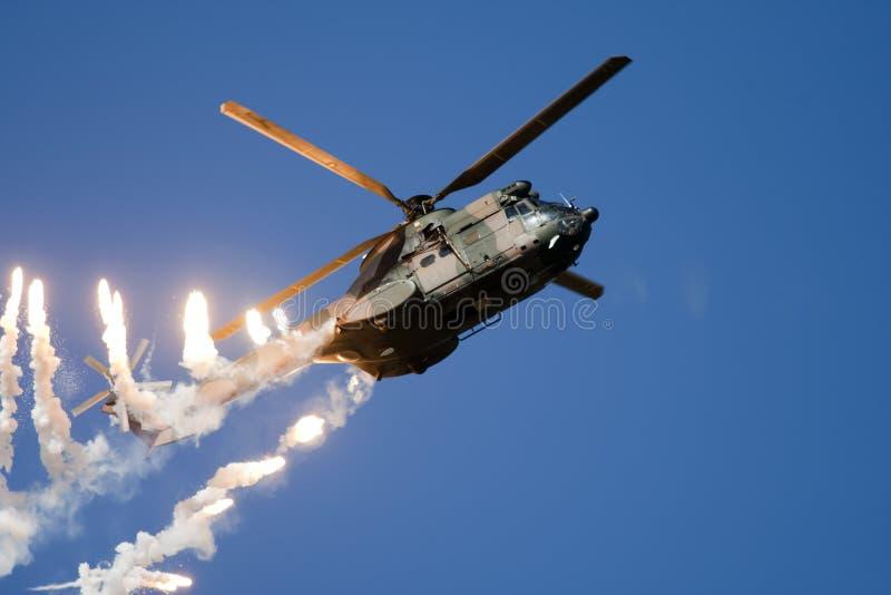 Helicóptero de Yx foto de stock