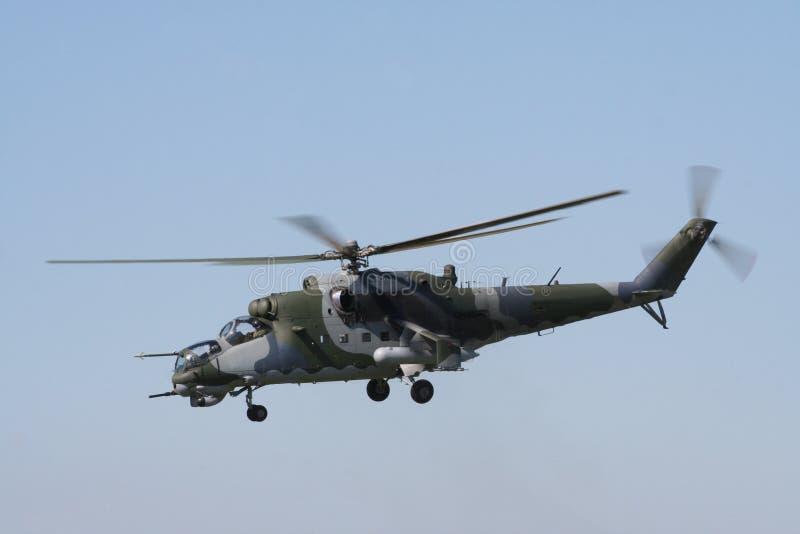 Helicóptero del ejército fotos de archivo libres de regalías