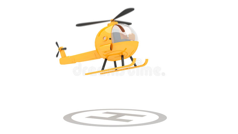 Helicóptero del juguete libre illustration