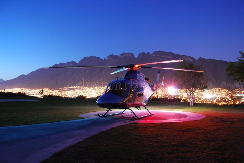 Helicóptero del VIP imagen de archivo libre de regalías