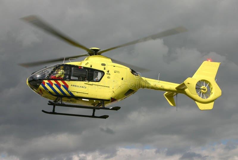 Helicóptero do EMS fotos de stock royalty free