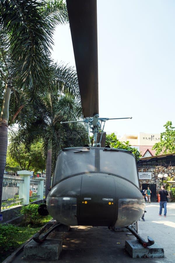 Helicóptero do exército dos EUA do conceito da guerra foto de stock royalty free