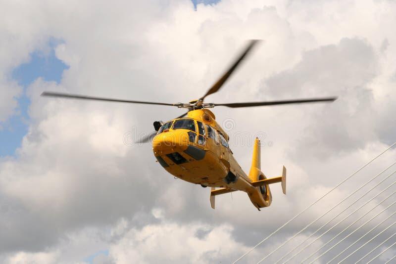 Helicóptero do helicóptero sanitário do exército imagem de stock