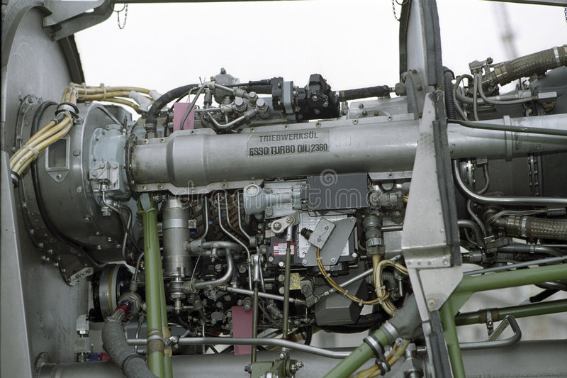 Helicóptero do motor imagens de stock royalty free