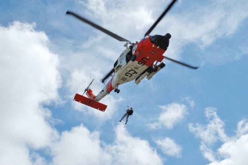 Helicóptero do protetor imagem de stock