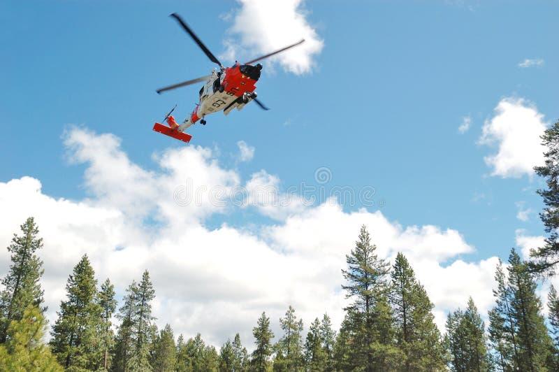 Helicóptero do protetor fotografia de stock royalty free