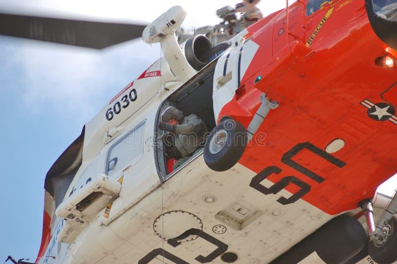 Helicóptero do protetor fotos de stock