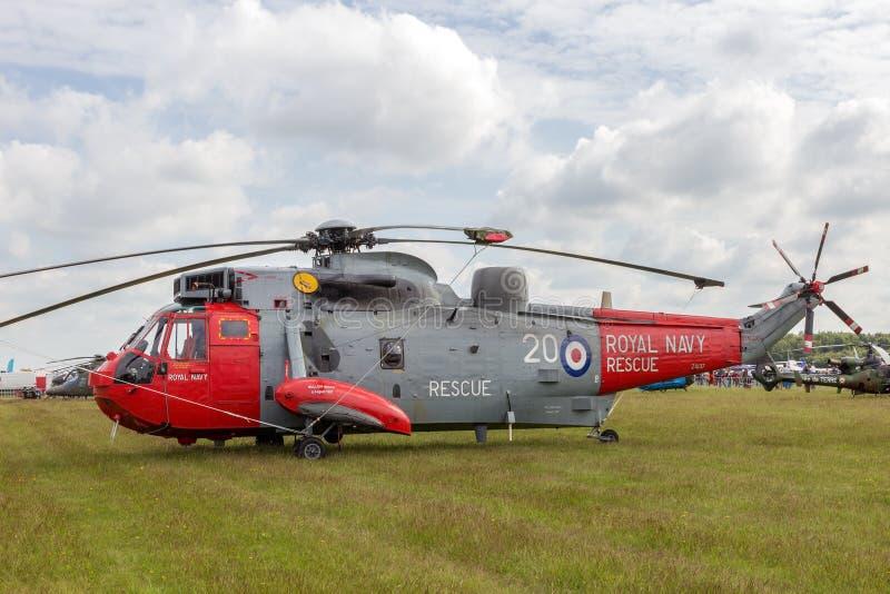 Helicóptero do salvamento imagem de stock