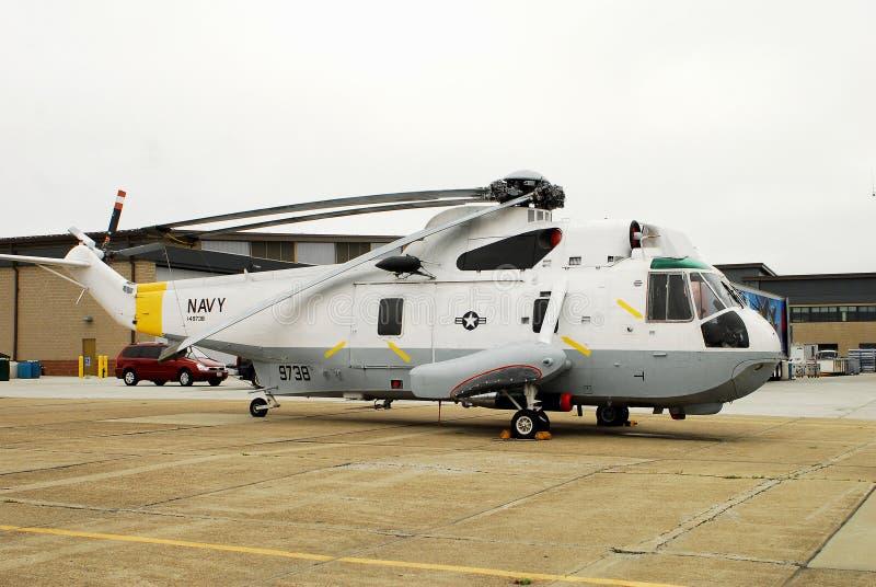 Helicóptero do salvamento da marinha de Estados Unidos imagem de stock royalty free