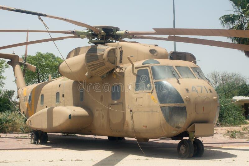 Helicóptero do transporte de Sikorsky CH-53 imagem de stock royalty free