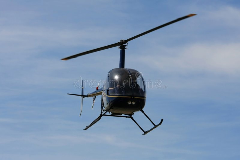 Helicóptero do vôo imagem de stock royalty free