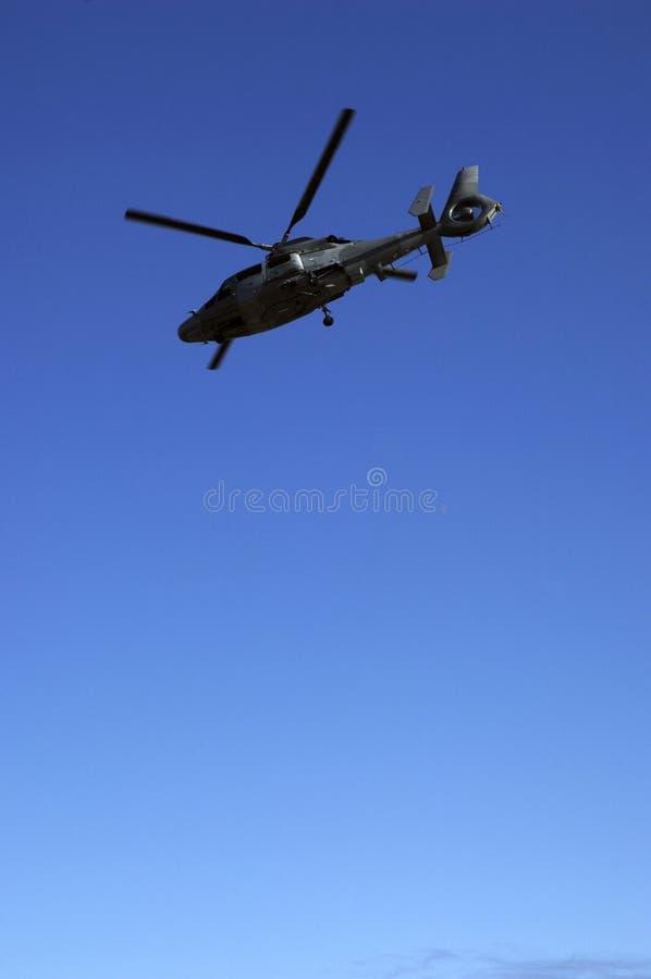 Helicóptero francês do exército fotografia de stock