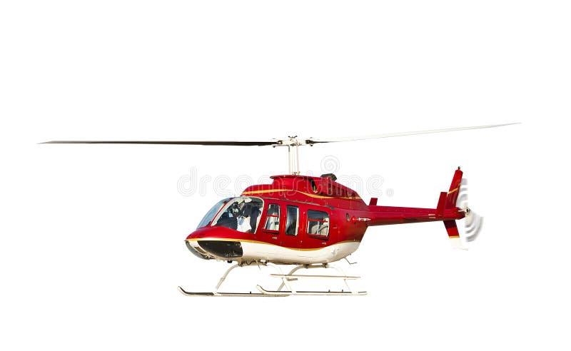 Helicóptero isolado imagem de stock royalty free