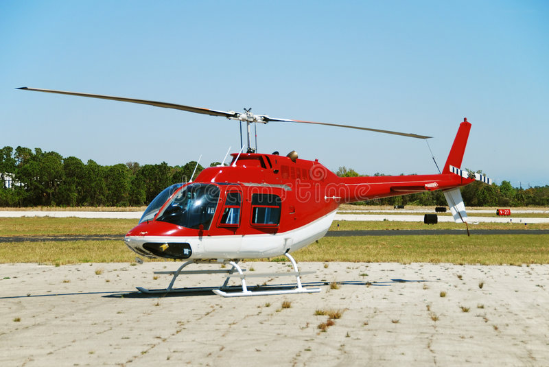 Helicóptero leve fotos de stock