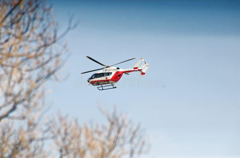Helicóptero médico imagen de archivo libre de regalías