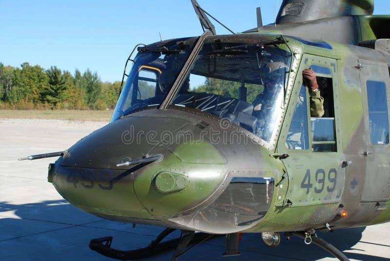 Helicóptero militar canadense fotos de stock