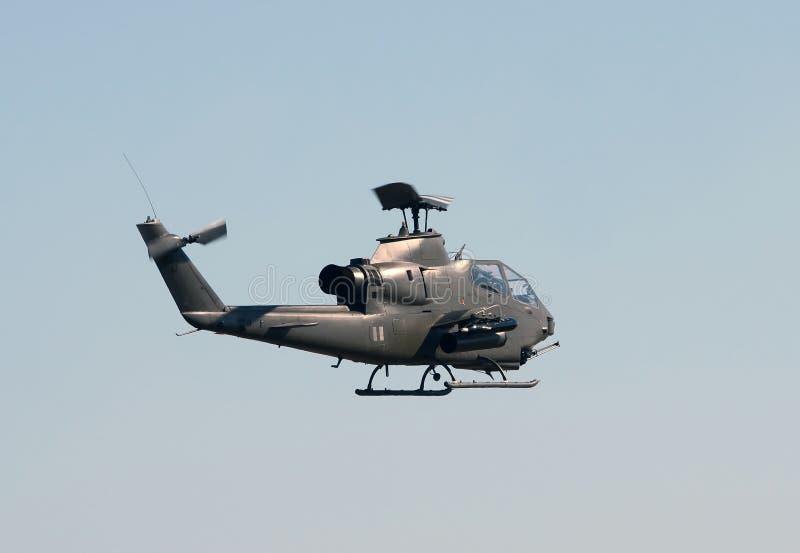 Helicóptero militar viejo fotos de archivo
