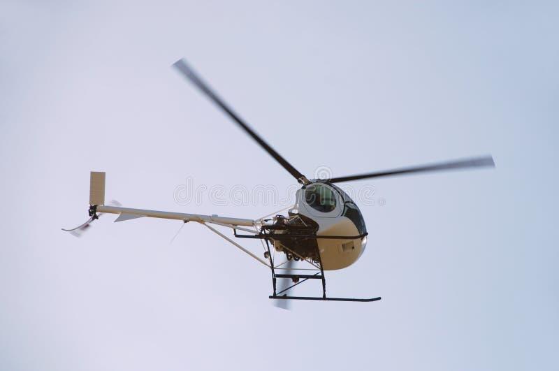 Helicóptero pequeno foto de stock royalty free