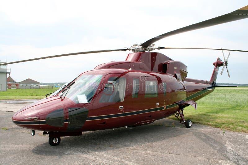 Helicóptero real fotografia de stock royalty free