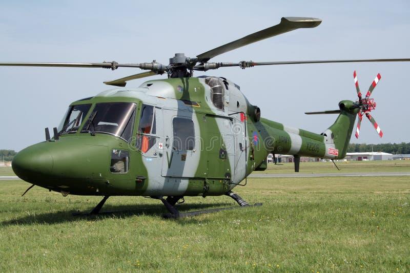 Helicóptero real do lince do exército imagens de stock royalty free