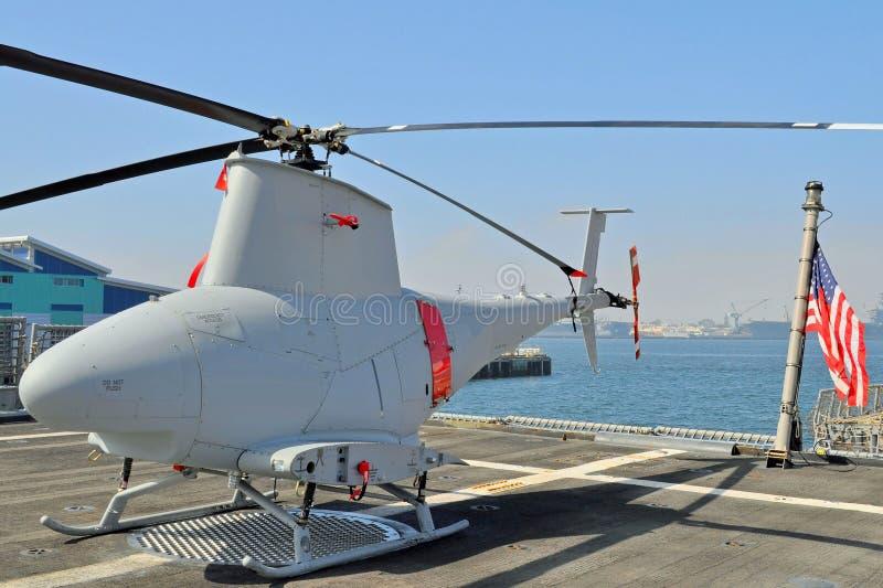 Helicóptero sin tripulación del reconocimiento fotografía de archivo