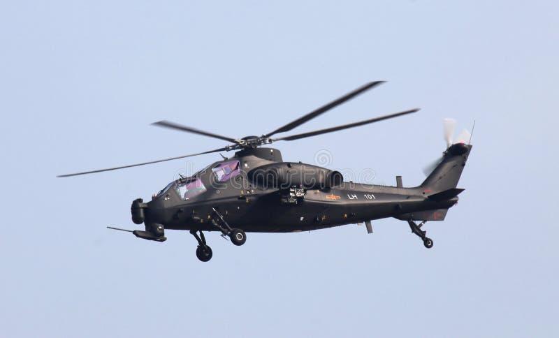 Helicóptero Z10 LH101 do PLA do exército de China foto de stock