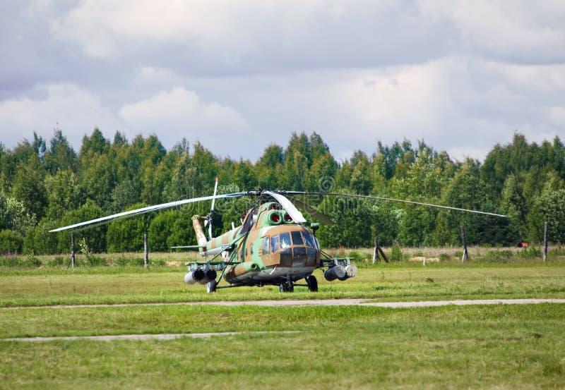 Helicópteros do transporte imagem de stock