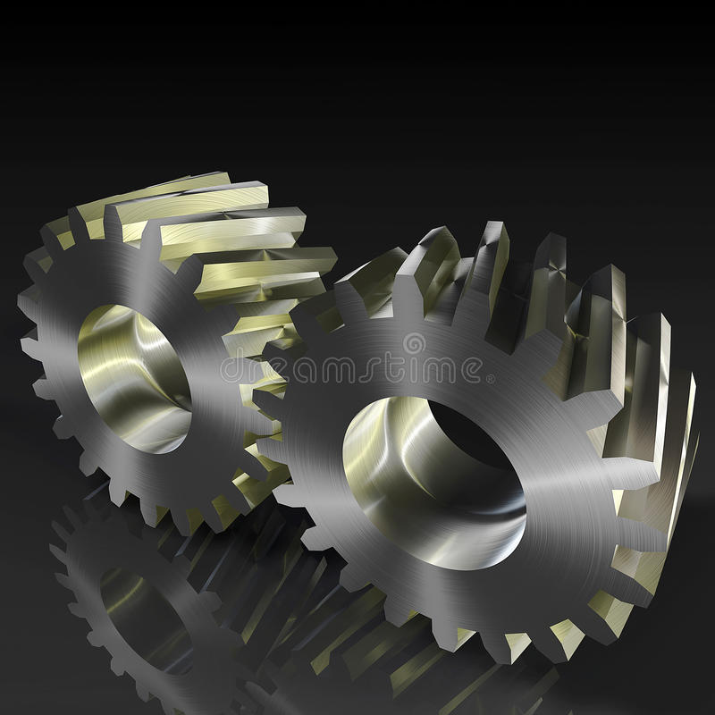 Free Helical Gears Royalty Free Stock Photography - 37430167