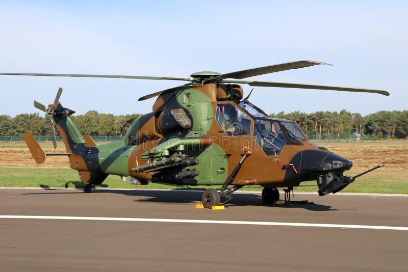 Helicopte do ataque de Tigre foto de stock royalty free