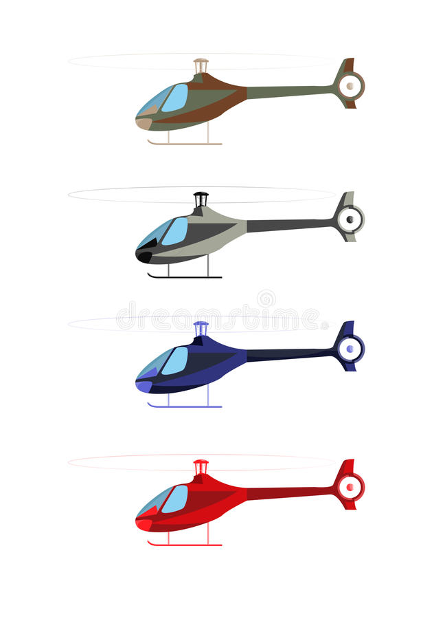 Download Helicopter stock vector. Image of fire, blade, isolated - 26344534