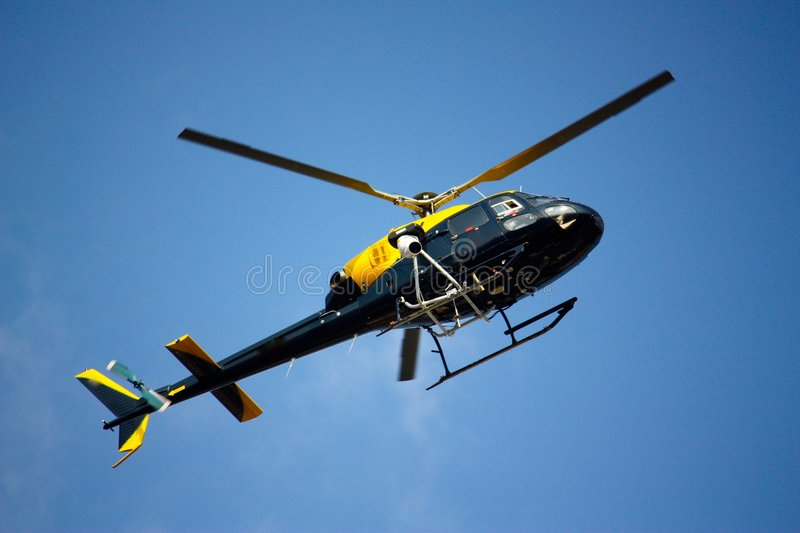 Download Helicopter stock photo. Image of hover, blue, aviation - 7133276
