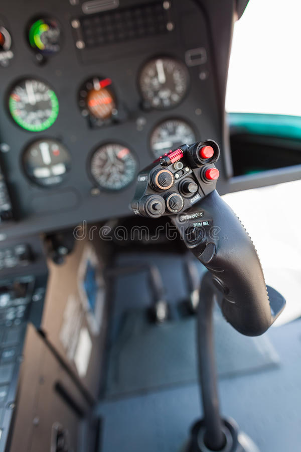 Download Helicopter cockpit stock image. Image of panel, detail - 28694361
