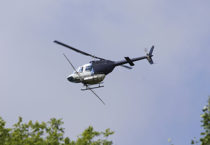 Download Helicopter Crop Duster Sprayer Stock Photo - Image: 5854394