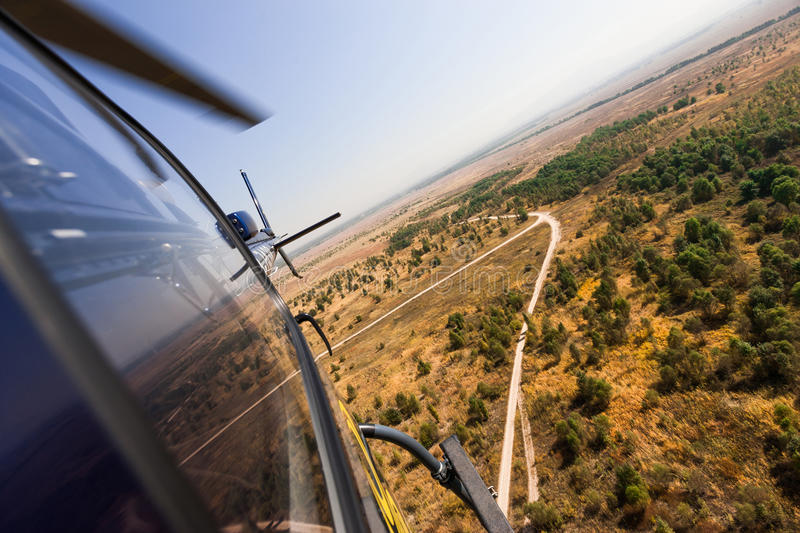 Download Helicopter in flight stock image. Image of tour, transportation - 28607083
