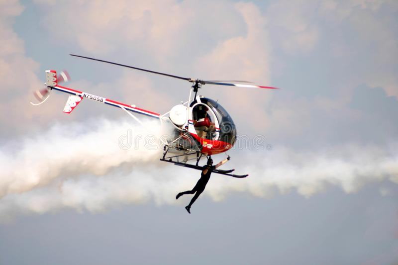 Helicopter Flyer royalty free stock photos