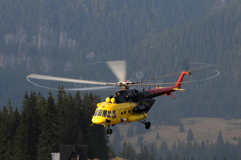Helicopter Mi 171 stock images