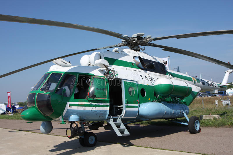 Download Helicopter Mi-8  AMT editorial stock image. Image of salon - 20779089