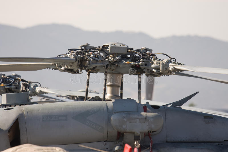 Helicopter Rotor royalty free stock images