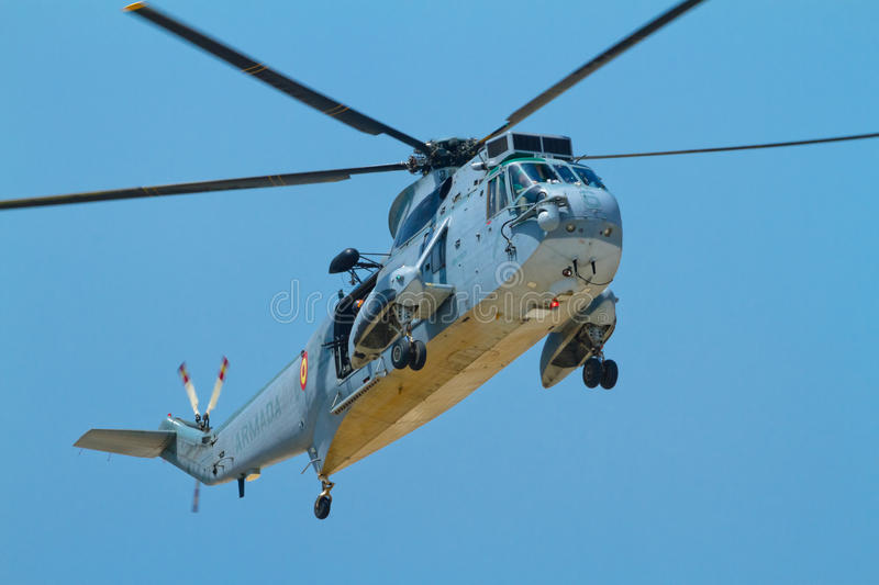 Helicopter Seaking stock photography