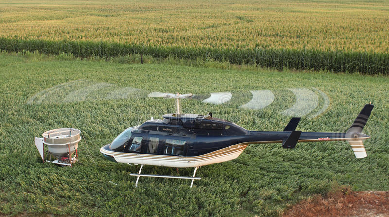 Download Helicopter stock photo. Image of blue, grass, aircraft - 33138416