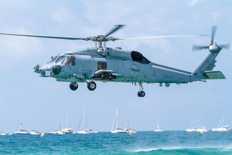 Download Helicopter SH-60B Seahawk editorial stock photo. Image of seahawk - 27036263