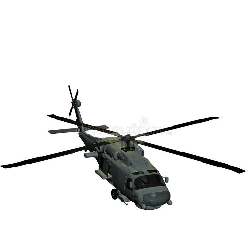Download Helicopter sh60 sea hawk stock illustration. Illustration of army - 2697187