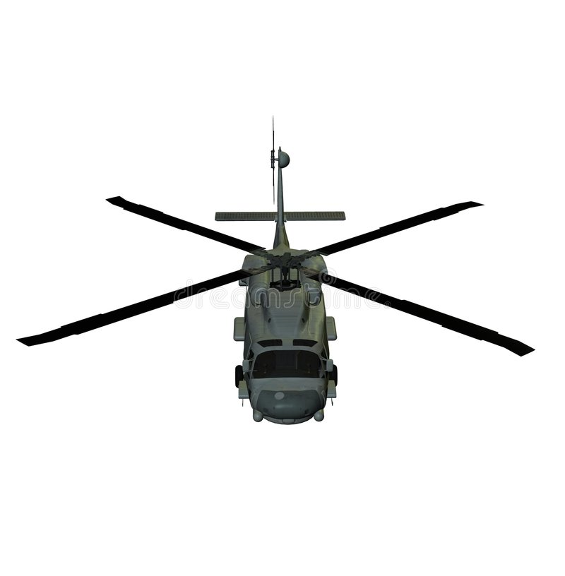Download Helicopter sh60 sea hawk stock illustration. Image of front - 2697193