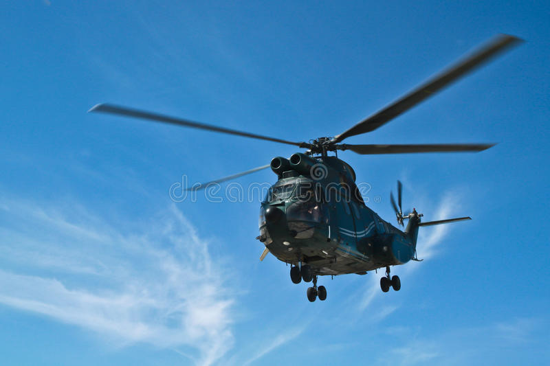 Helicopter starting stock images