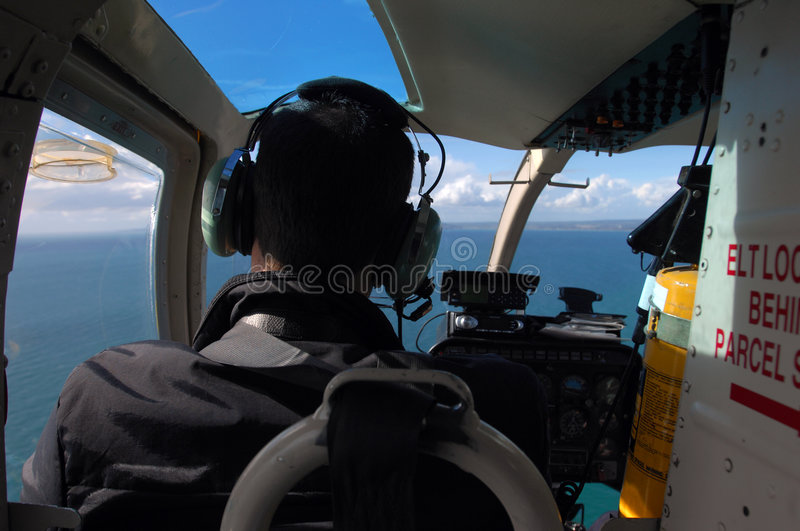 Helicopter_views photographie stock libre de droits