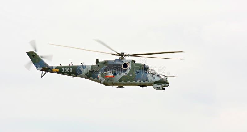 Helicoptere Mil Mi-24 stockfotografie