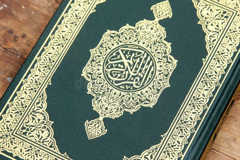 Helig bok för Koranen arkivbilder